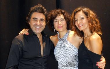 Eric Zemour et Laetitia Guénaou de la Haute Coiffure Française