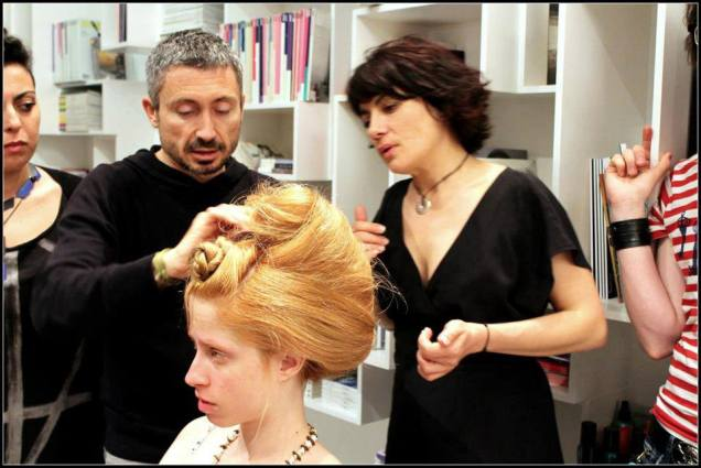 Training coiffure avec Christophe Durand